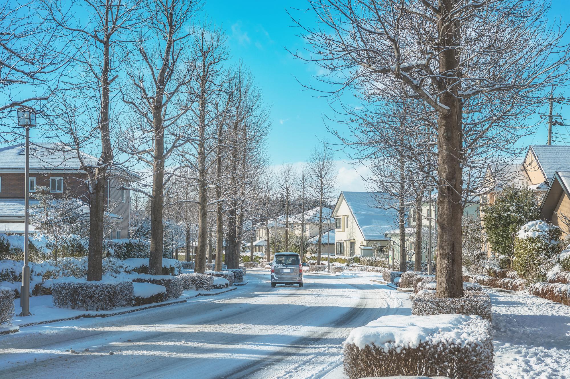 冬の長期不在は凍結に注意
