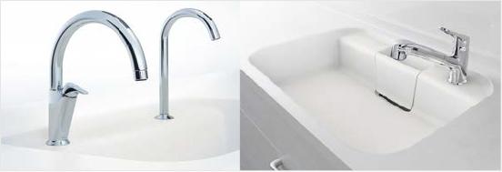 LIXILの美しいデザイン水栓